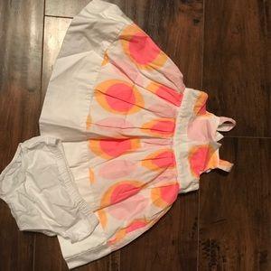 Carter's girls 6 mos sleeveless dress